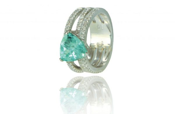 Un anello di fidanzamento che è opera d'arte: le creazioni Giverso