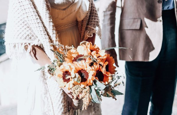 matrimoio in rifugio stile boho - alpine boho wedding