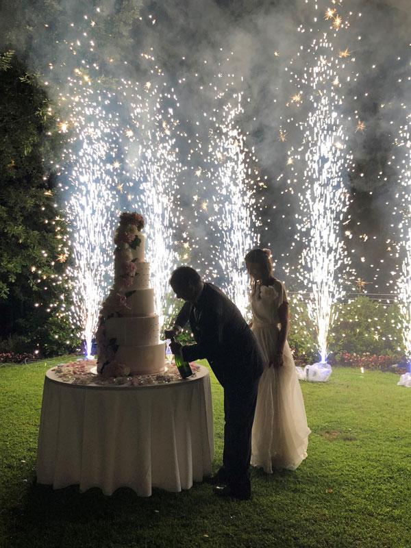 Un matrimonio libanese tra cibo e vino nelle Langhe: dolce vita