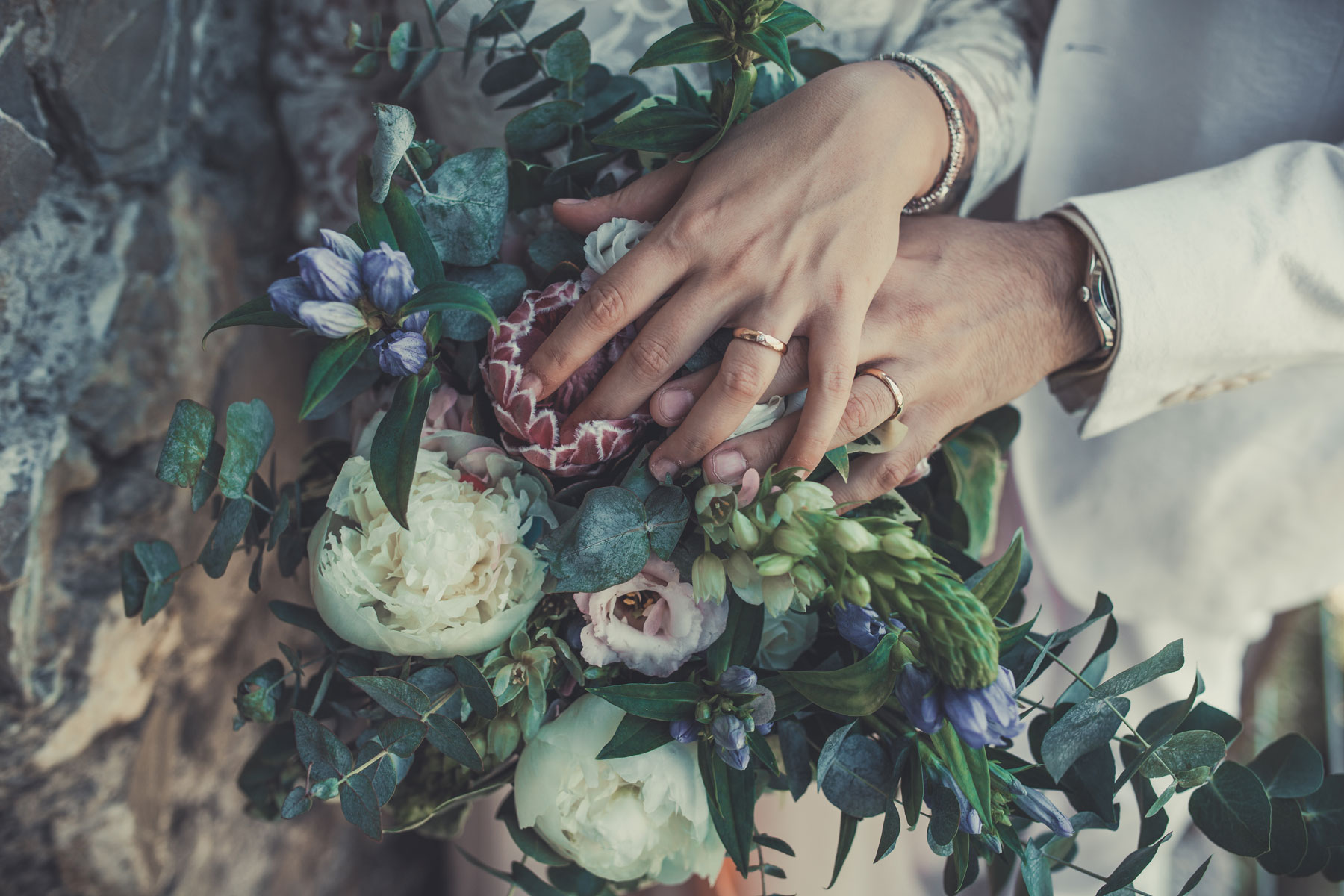 Matrimonio in terrazza sul Mar Ligure