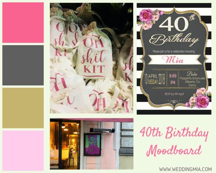 Hello 40! Un compleanno da ricordare