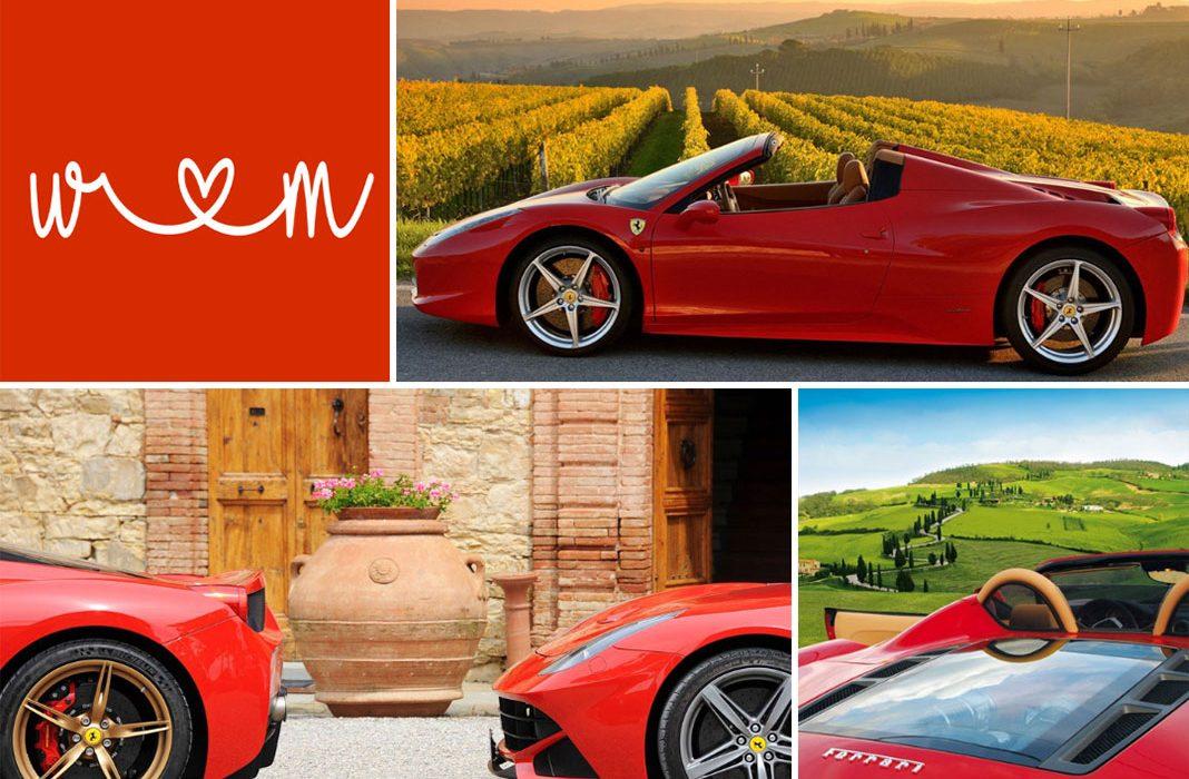 Tour delle Langhe in Ferrari. Italian Experience alla massima potenza.