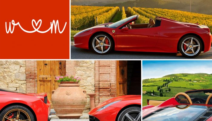 A Tour of the Langhe in Ferrari. The Italian experience at full throttle