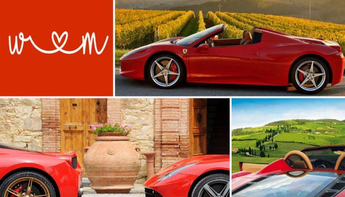 Tour delle Langhe in Ferrari: un'esperienza italiana al massimo della potenza