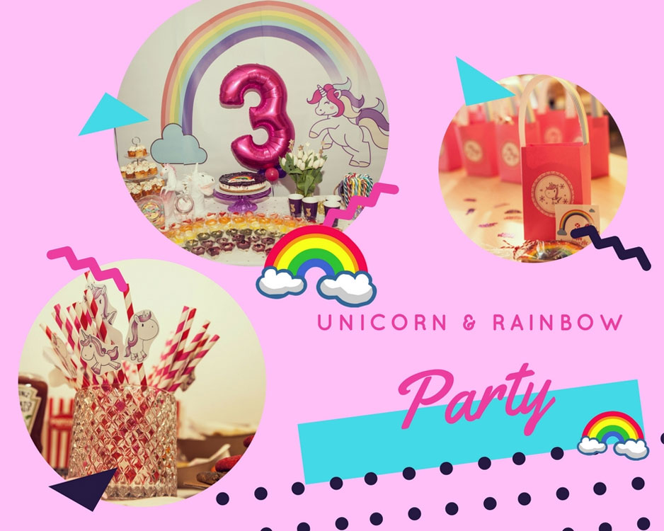 Rainbow & Unicorn Party