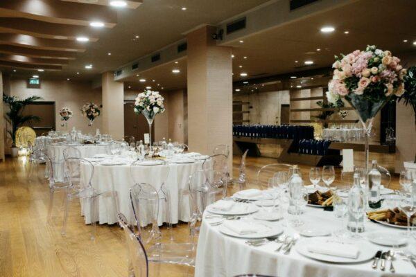 destination wedding in piedmont vineyards: good food
