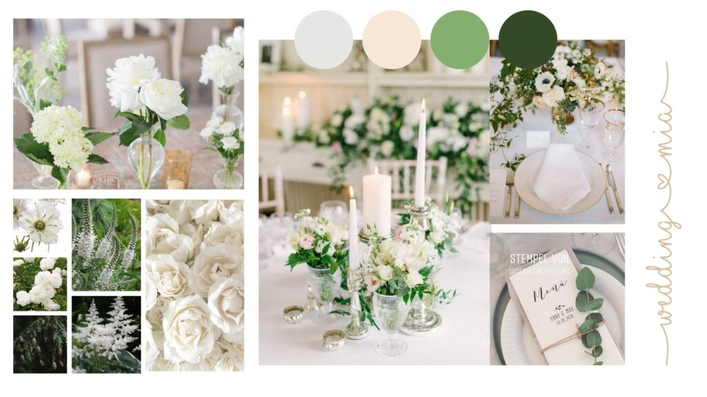 wedding design elegante party design